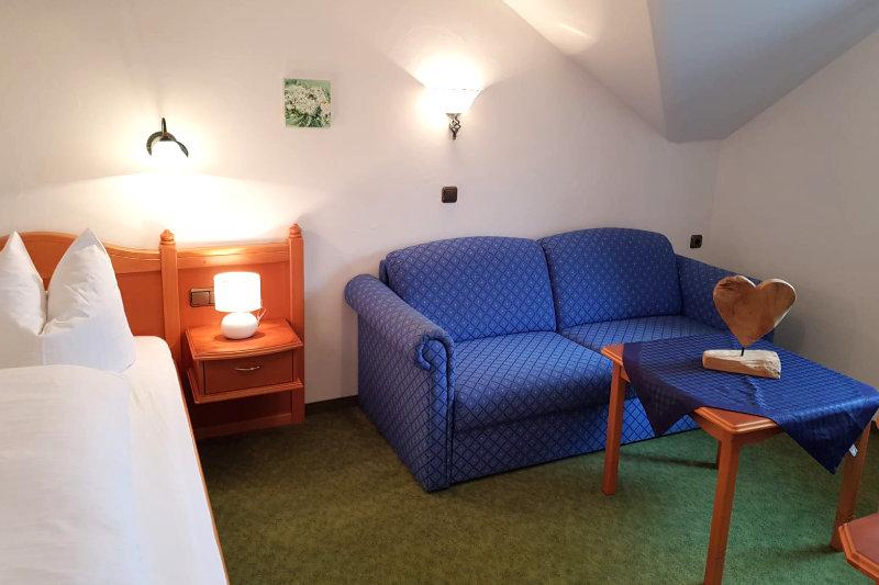 Einzelzimmer Huber Hof Ruhpolding