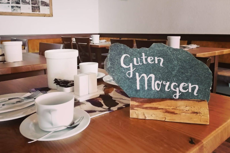 Frühstück Huber Hof Ruhpolding