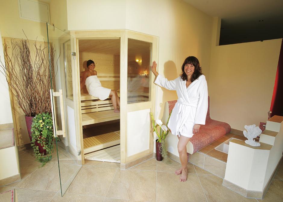 Wellness im Huber Hof | Sauna